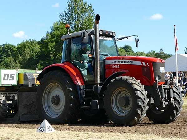 Tractor Exhaust Massey Ferguson