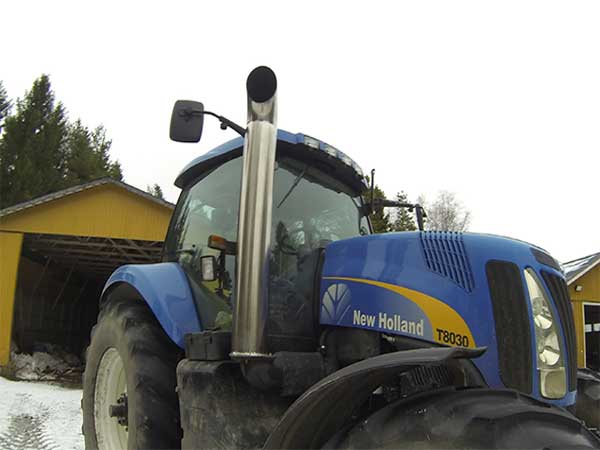 New Holland Tractor Exhaust