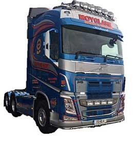 Volvo Truck Bars