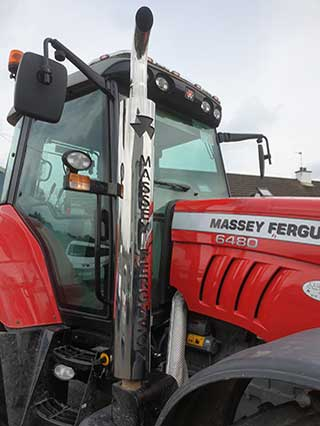 Massey Ferguson Exhausts