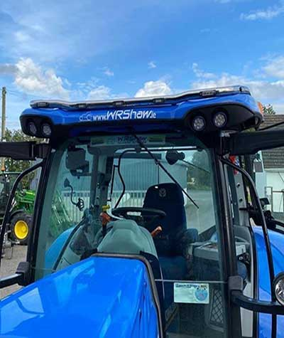 New Holland Tractor Roof Bars