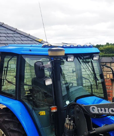 New Holland TS90 Tractor Roof Bars